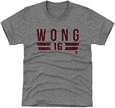 500 LEVEL Kolten Wong St. Louis Baseball Kids Shirt - Kolten Wong Font