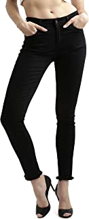 Miss Chase Women's Black High Rise Denim Jeans