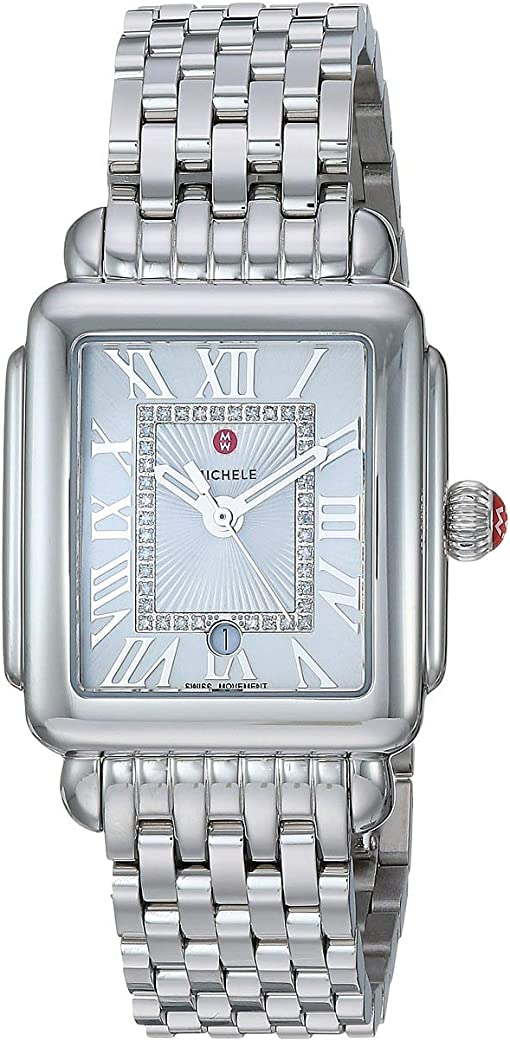 Stainless Steel/Silver/White Sunray Dial