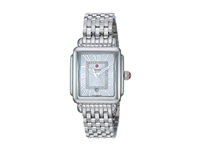 Michele Deco Madison Mid Silver MWW06G000012 (Stainless Steel/Silver/White Sunray Dial) Watches