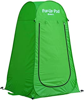 Best GigaTent Pop Up Pod Changing Room Privacy Tent – Instant Portable Outdoor Shower Tent, Camp Toilet, Rain Shelter for Camping & Beach – Lightweight & Sturdy, Easy Set Up, Foldable - with Carry Bag Reviews