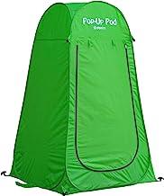 چادر مخصوص تغییر اتاق GigaTent Pop Up Pod تغییر اتاق - چادر دوش در فضای باز قابل حمل فوری ، توالت کمپ ، پناهگاه بارانی برای کمپینگ و ساحل - سبک و محکم ، تنظیم آسان ، تاشو - با حمل کیف