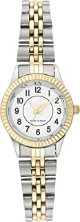 Women's Easy to Read Two-Tone Bracelet Watch, AE/5005WTTT
