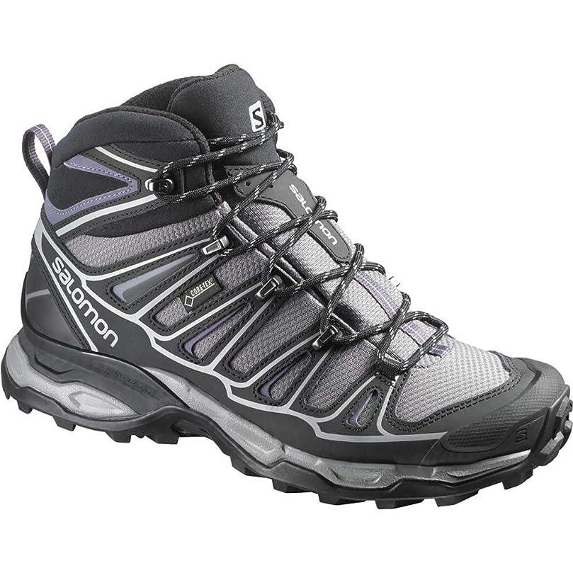 交渉するトリッキーのり(サロモン) Salomon レディース シューズ?靴 ブーツ X Ultra Mid 2 Spikes GTX Winter Boot [並行輸入品]