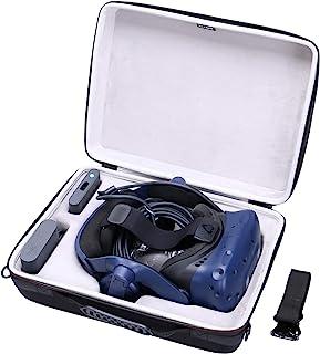 LTGEM EVA Hard Case for HTC VIVE Pro Virtual Reality Headset - Travel Protective Carrying Storage Bag