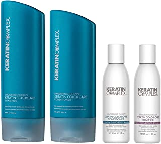 Keratin Complex Color Care Shampoo n Conditioner 13.5 Ounces and Travel Set