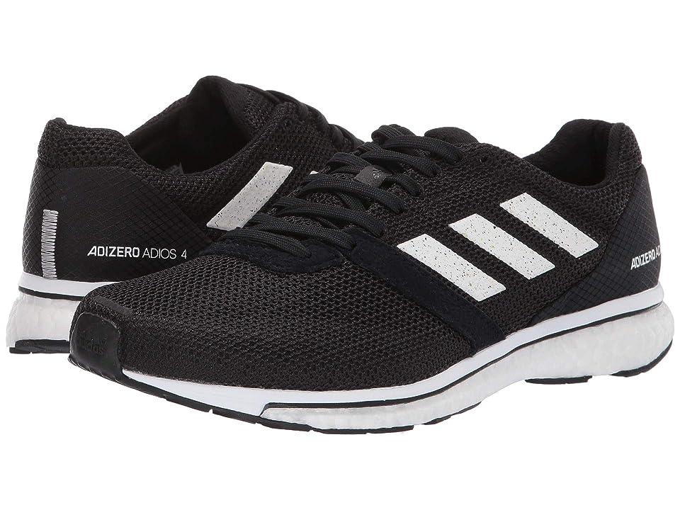 Image of adidas Running Adizero Adios 4 (Black/Footwear White/Black) Women's Shoes
