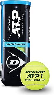 Dunlop Unisex's 601332 Tennisball ATP Championship-3 Ball Pet, Yellow, One Size