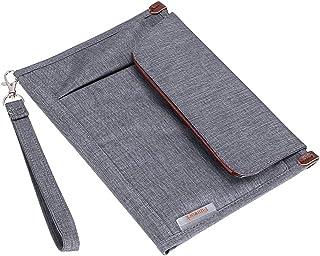 BTSKY Portfolio File Folder A5 Documents Bag Files Organizer Business Card Holder Stationery Bag Book & Bible Cover Briefc...