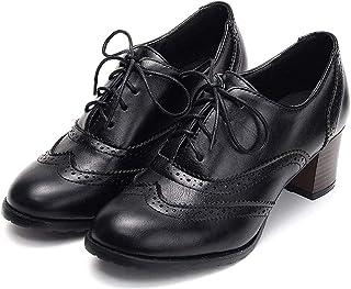 bottines noires richelieu femme