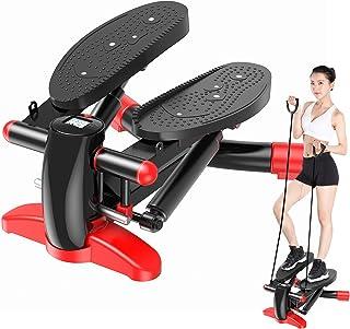 3Dステッパー PolySky フィットネスマシン 踏み台 運動 室内 エクササイズ 有酸素運動 日本語取扱説明書 (ブラック&ホワイト)