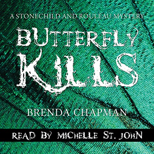 Butterfly Kills audiobook cover art