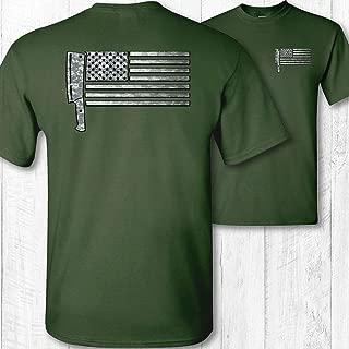 bill the butcher american flag shirt