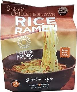 Lotus Organic Brown Rice Ramen, 30 Ounce