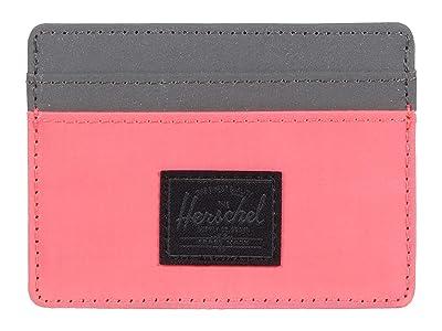 Herschel Supply Co. Charlie RFID (Neon Pink Reflective/Silver Reflective) Wallet Handbags