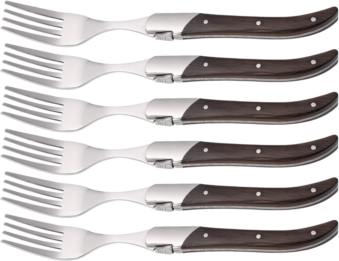 Finally popular brand Laguiole Discount is also underway by FlyingColors Dinner Forks Steel Set Stainless Wenge