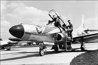20x30 Poster; Lockheed F-94 Starfire Aircraft At Hector Field, North Dakota