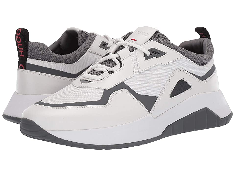 BOSS Hugo Boss Atom Run Mix Material Sneaker By HUGO (Open White) Men