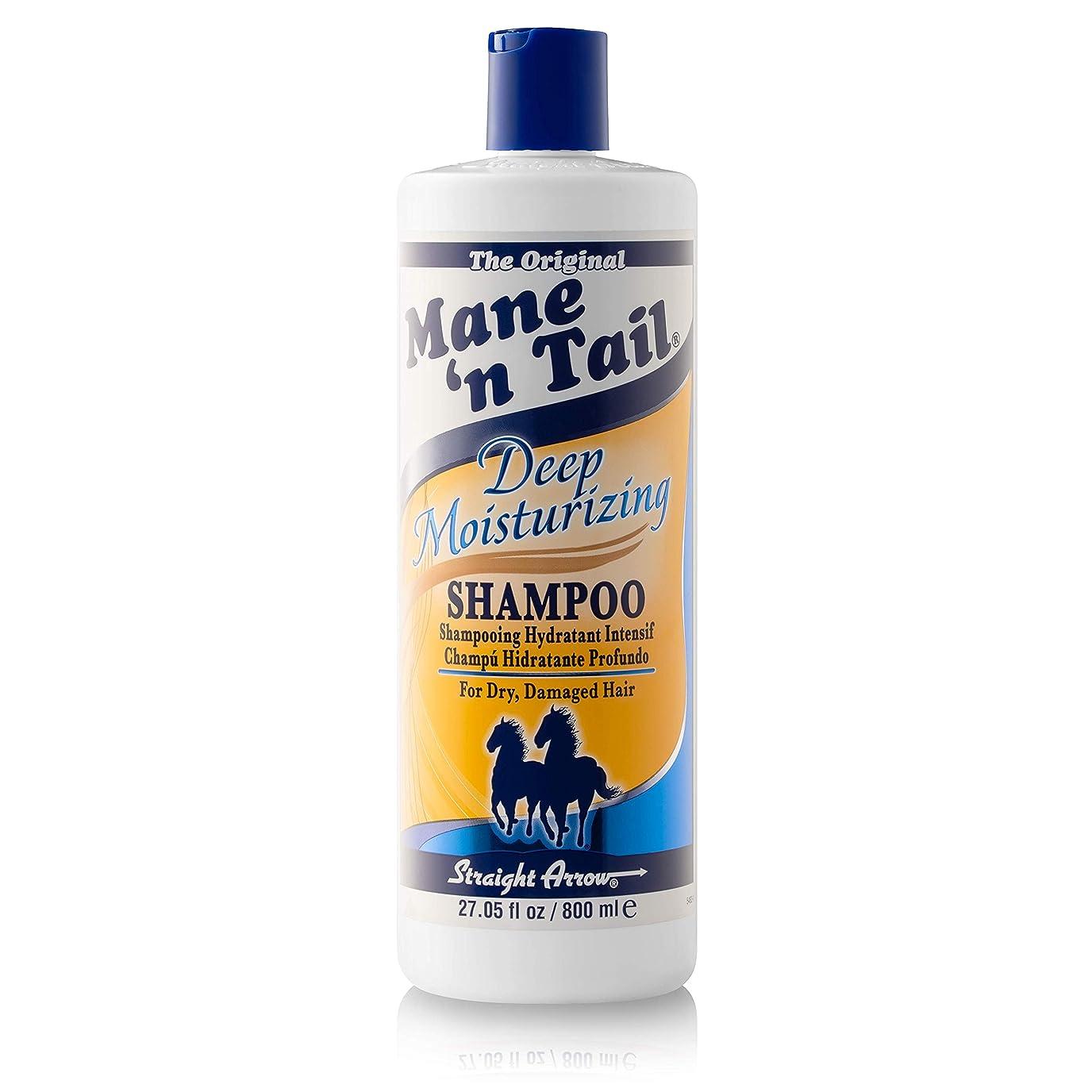 厳密に爵ノベルティメインテイル Mane 'n Tail Deep Moisturizing Shampoo 27.05 oz 800ml 並行輸入品