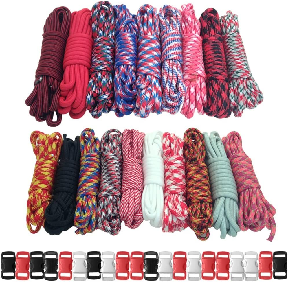 PARACORD Our shop OFFers the best service PLANET 550lb Discount is also underway Type III with Crafting Combo Paracord Kits