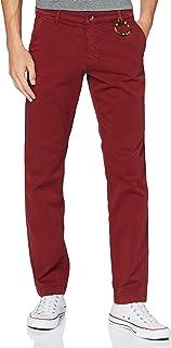 Daniel Hechter Uomo Set di Pantaloni Eleganti da Lavoro Not Applicable, Rosso, 36/34