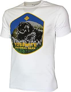 Columbia Men's Graphic Tee Crew Neck Top T Shirt