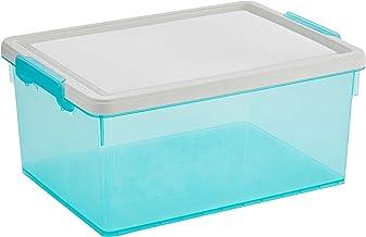 Citylife X-6269 IB PIATTO 31L Storage Box, 48.5 * 36.5 * 22.5cm, Ice Blue