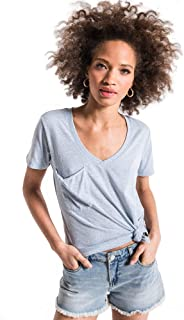 Women's The Tri-Blend Pocket Short Sleeve T-Shirt
