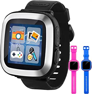 """GBD Game Smart Watch for Kids Girls Boys Toddlers Wrist Digital Watch with Pedometer 1.5"""" Touch 10 Games Alarm Clock Elect..."""