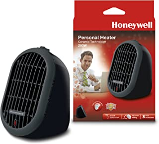 Honeywell HCE100 - Calefactor personal, 250 W, color negro