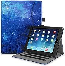 Fintie Funda para iPad 4/3 / 2 - [Protección de Esquina] [Multiángulo] Carcasa con Bolsillo y Función de Soporte y Auto-Reposo/Activación, Cielo Estrellado
