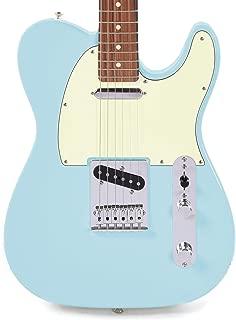 Fender Player Telecaster PF Daphne Blue w/3-Ply Mint Pickguard (CME Exclusive)