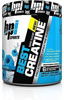 Best Creatine Blue Raspberry Flavor by BPI Sports, 300g