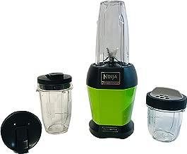 Nutri Ninja Pro Series Single Serve (1) 12 ounce and (1) 24 ounce to go cups Blender 1000 Watt BL454QR (Renewed) (GREEN)