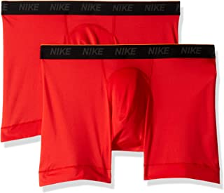 Men's Brief Boxer 2 Pack, University Red/University Red, X-Large