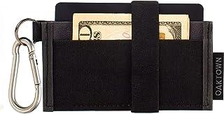 محفظة صغيرة - محافظ جيب أمامي نحيفة للرجال مع حلقة مفاتيح قابلة للإزالة - أفضل محفظة رفيعة لبطاقة الائتمان وتنظيم النقود