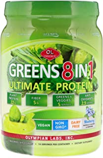 Olympian Labs Ultimate Greens Protein 8 in 1