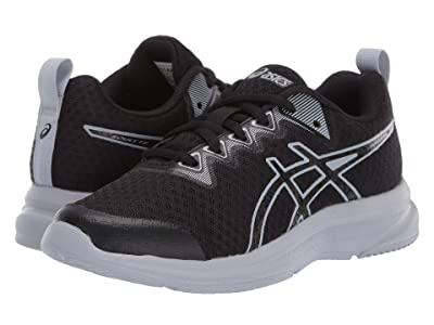 ASICS Kids Soulyte (Little Kid/Big Kid) (Black/Piedmont Grey) Boy