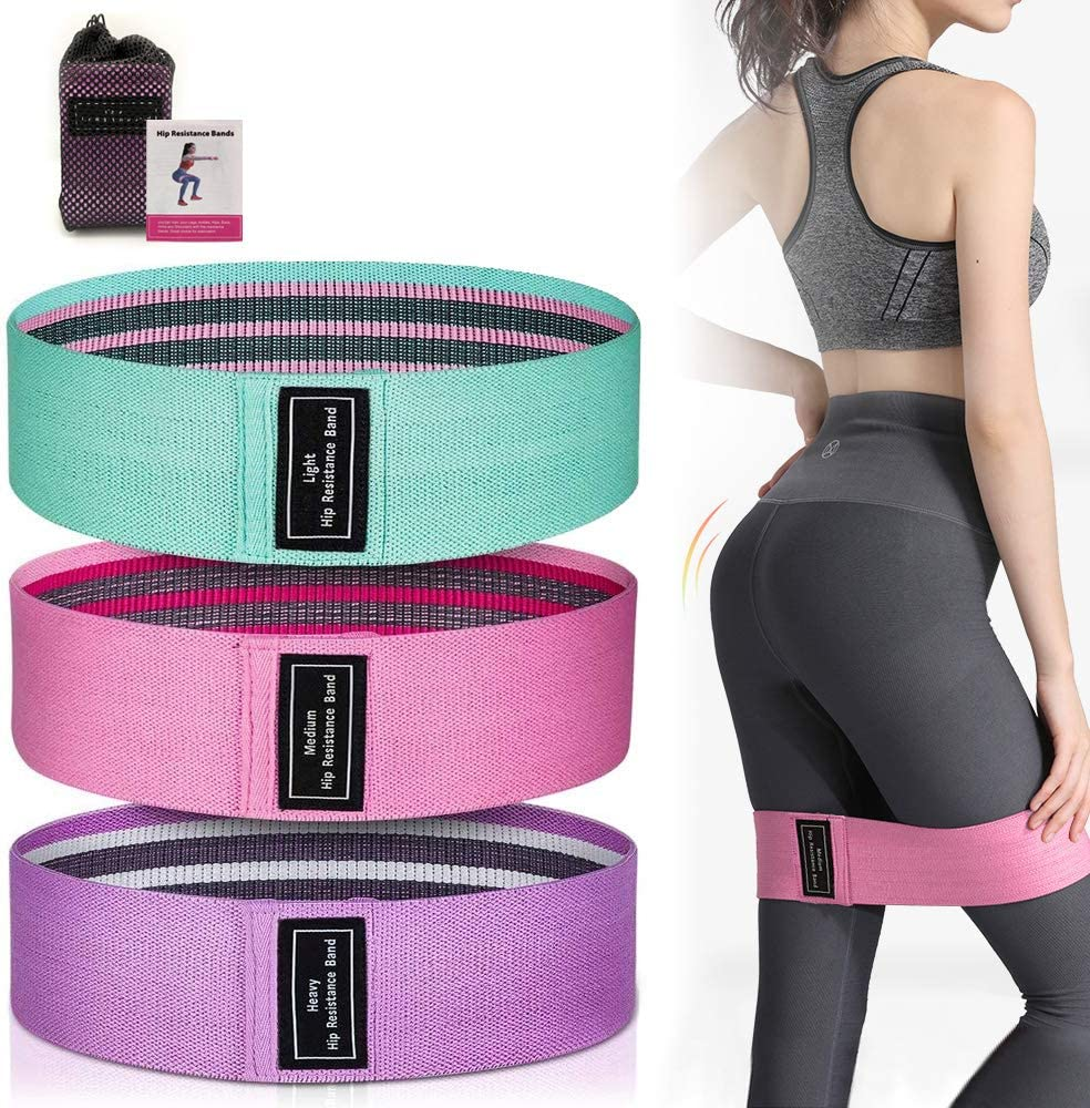 Resistance Bands Set for Women Indefinitely Butt Legs Low price Work and Exercise