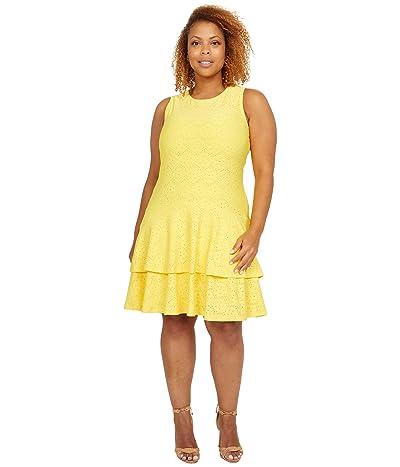 MICHAEL Michael Kors Floral Jacquard Sleeveless Dress Women