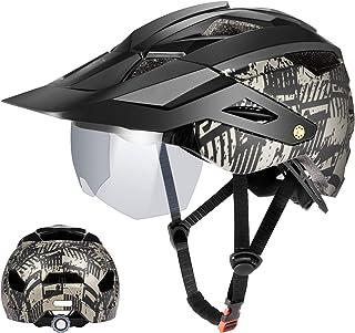 Mattschwarzer Fahrradhelm F/ür M/änner Und Frauen Thrivinger Fahrradhelm New Mountain Road Fahrradhelm 58-61 cm Mountainbike Helm F/ür Outdoor-Sportfahrr/äder Mit LED-Hintergrundbeleuchtung
