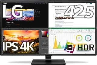 LG モニター ディスプレイ 43UN700-B 42.5インチ/4K/HDR対応/IPS非光沢/HDMI×4,DP,USB Type-C/スピーカー/ブルーライト低減、フリッカーセーフ/リモコン付属