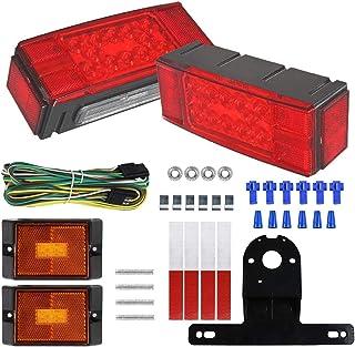 LIMICAR - Kit de luces LED de bajo perfil rectangular para r