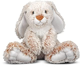 Melissa & Doug Burrow Bunny Rabbit Stuffed Animal...