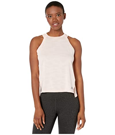 New Balance Q Speed Jacquard Tank (Peach Soda Heather) Women