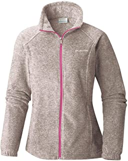 Columbia Womens Benton Springs Full Zip Jacket, Soft Fleece with Classic Fit
