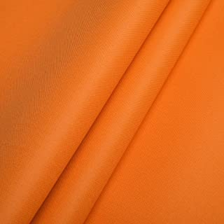 Polyester Oxford 600D 1lfm - Wasserdicht, Outdoor Stoff, Segeltuch, Abdeckplane Orange