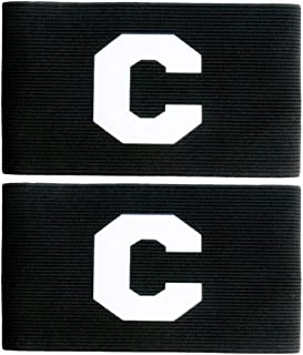 MAYFOO Soccer Captains Armband - Captain Arm Bands Wristband for Kids,Youth and Adult