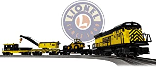 Lionel Construction Railroad Electric O Gauge Model Train Set w/ Remote and Bluetooth Capability