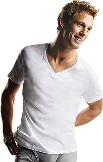 Hanes Men`s Tagless V-Neck Undershirt